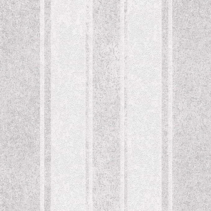 Livingwalls Streifentapete Jette 4 Vliestapete beige braun metallic