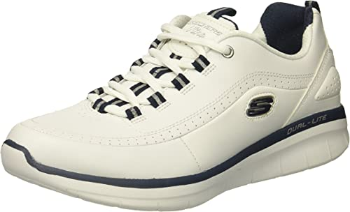 Skechers Synergy 2 Life Style Schuhe Frauen Weiß Silber