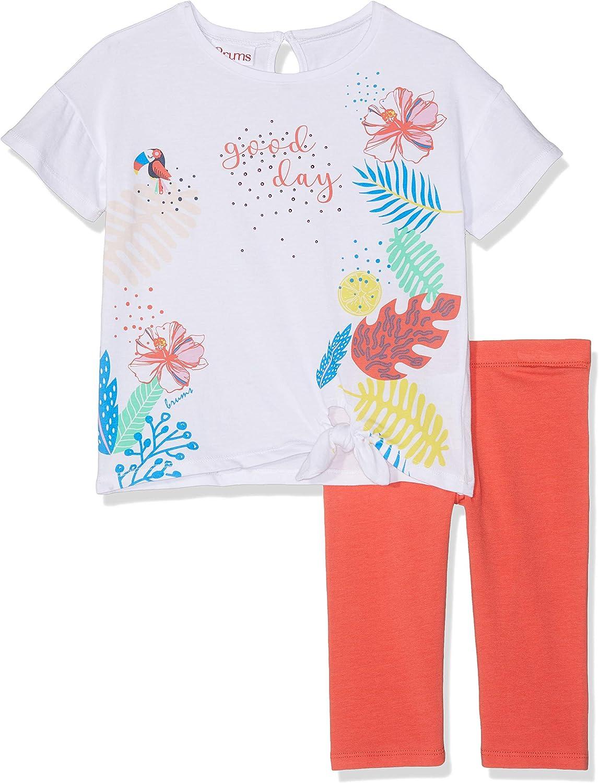MEK Baby-M/ädchen Pescatore Jersey Stretch Con Voulant Shorts