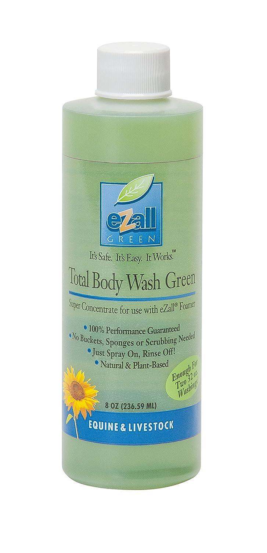 EZall 69-4008 Super Concentrate Total Body Wash 8oz, Green