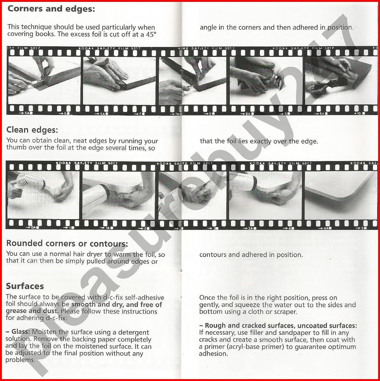 150 X 45/cm Vinyle autocollant effet miroir DC Fix 215-0005