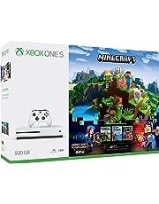 Xbox One S Consola de 500GB + Juego Minecraft + Live Gold 3 Meses - Bundle Edition