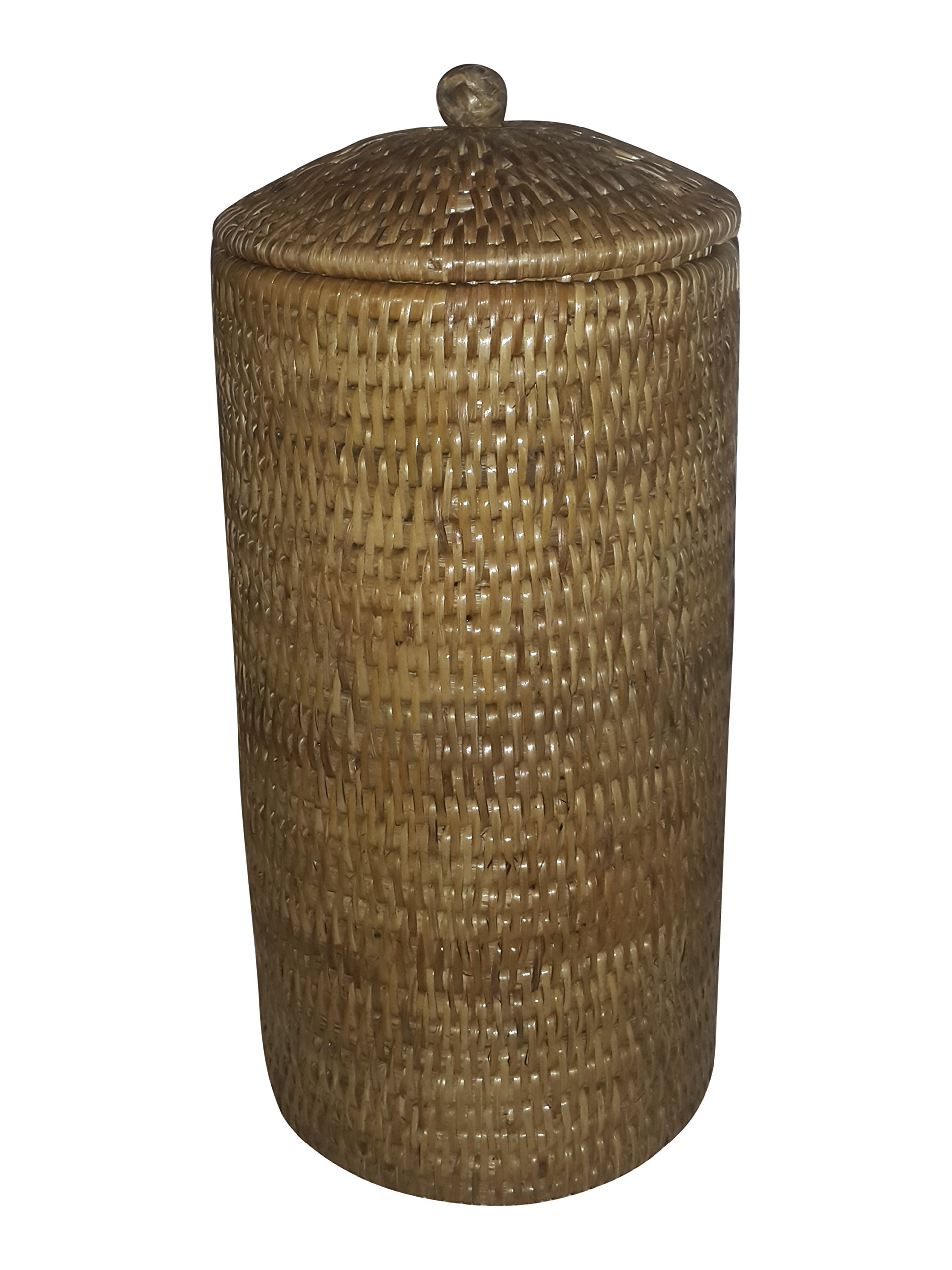 Artifacts Trading Company Rattan Large Tall Toilet Roll Knot Box, 6'' L X12 H by Artifacts Trading Company