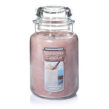 Yankee Candle Large Jar Candle, Cinnamon Vanilla