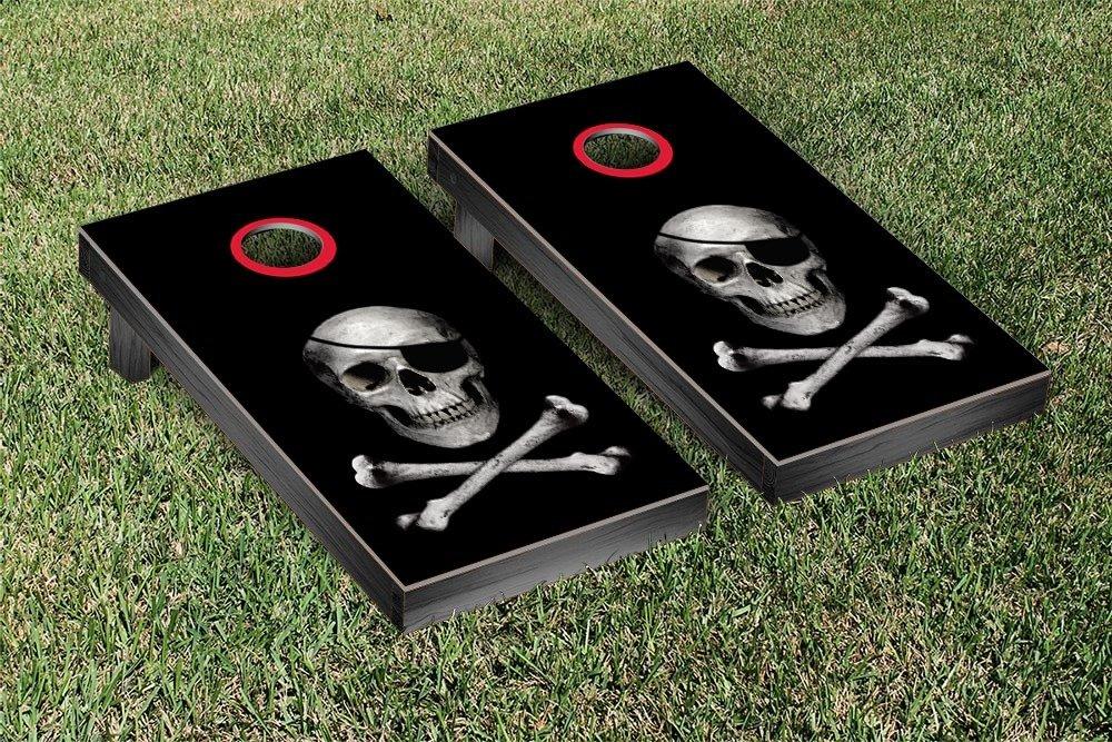 Skull And Crossbones Cornhole Bean Bag Toss Game