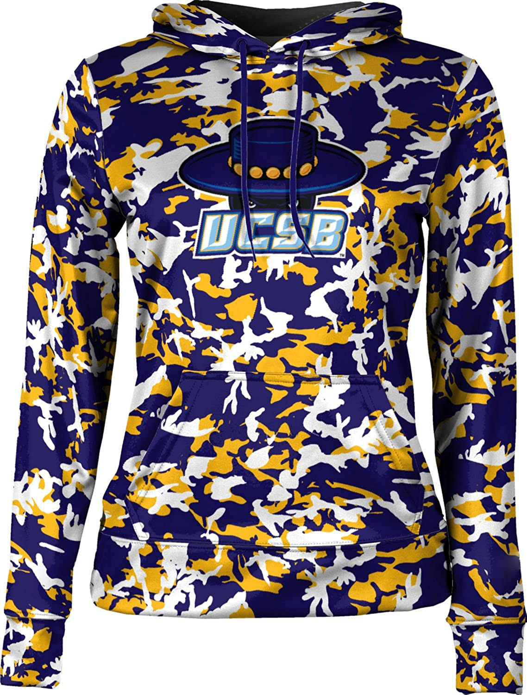 ProSphere University of California Santa Barbara Girls Pullover Hoodie School Spirit Sweatshirt Camo