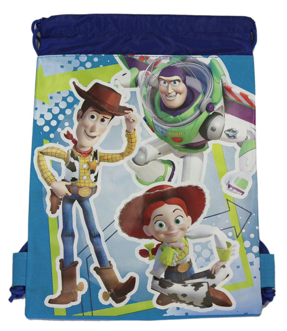 well-wreapped Blue Woody, Buzz, and Jessie Drawstring Bag - Kids Drawstring  Backpack 7bfeca6c30