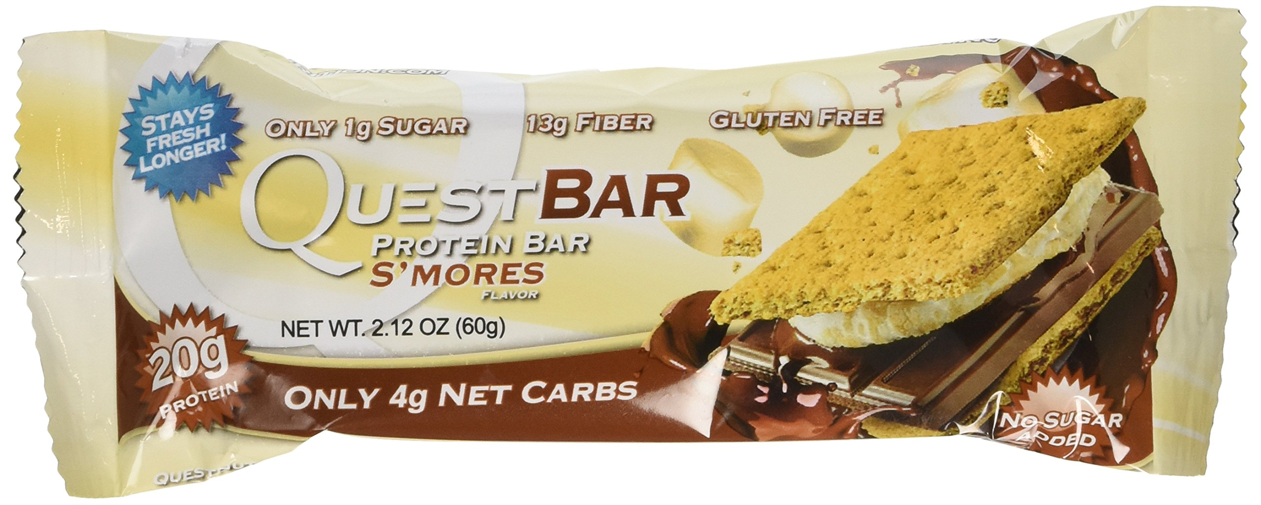Quest Nutrition Protein Bars - Smores - 36 Count