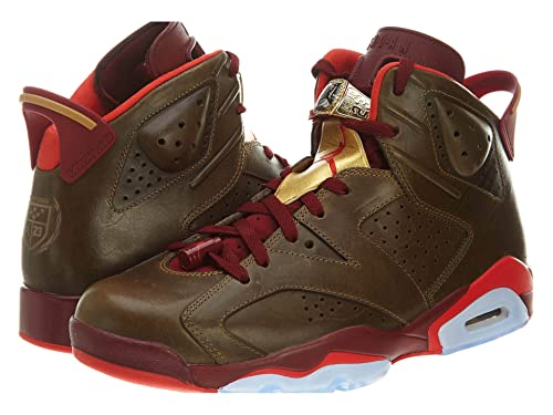 new product a0fe1 da4c8 Amazon.com | Air Jordan VI (6) Retro (Cigar) - Raw Umber ...