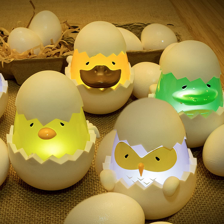 MOBI TykeLight Eggies Playful Bath Time Waterproof LED Light Toys 70171 Dino