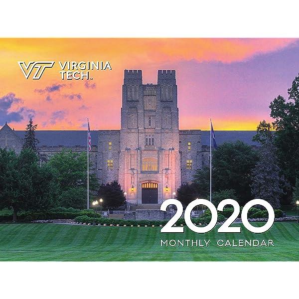 City Tech 2020 Fall Calendar.Amazon Com 2020 Vintage Virginia Tech Hokies Football