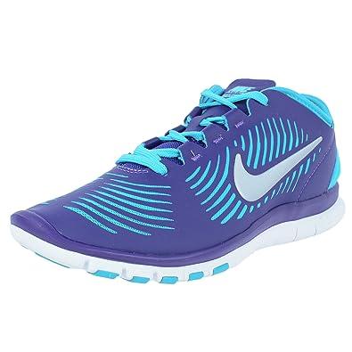 timeless design 0aa15 7d74b Nike Women's Nike Free Balanza Training Running Shoes-Crt Purple/Mtllc  Slvr/Gmm Bl-8