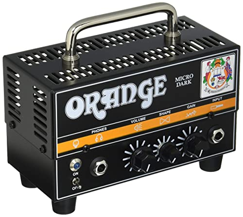 Orange Amps 1 Electric Guitar Power Amplifier Black Micro Dark