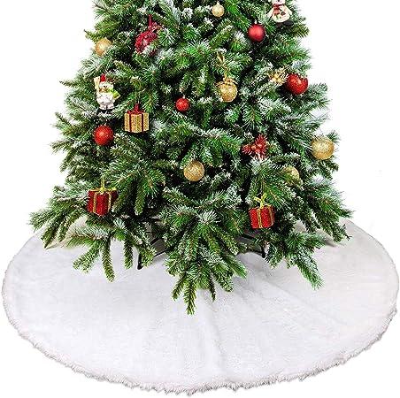 THE TWIDDLERS Falda de Felpa para Arbol de Navidad - Efecto de ...
