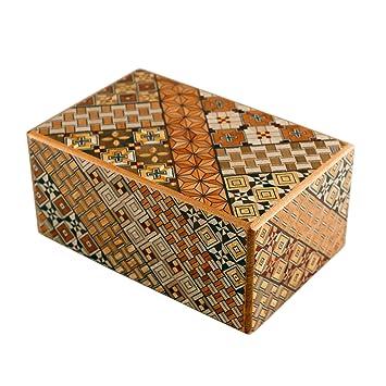 Holzspielzeug 12 Mal Walnußholz 4 sun Japanisch puzzlebox Himitsu Bako Hergestellt in Japan