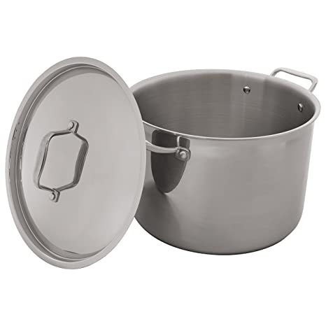 Amazon.com: Stone & Beam - Olla de acero inoxidable triple ...
