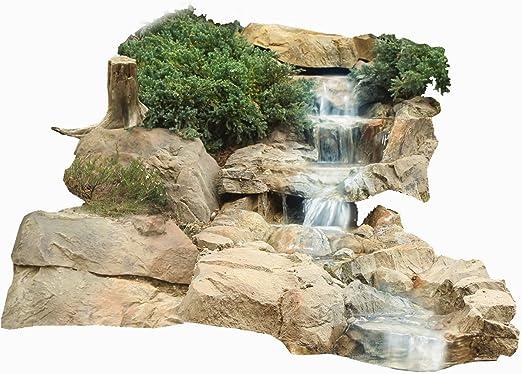 Cascada Arroyo Estanque de Jardín Conchas Corriente Set I: Amazon.es: Jardín