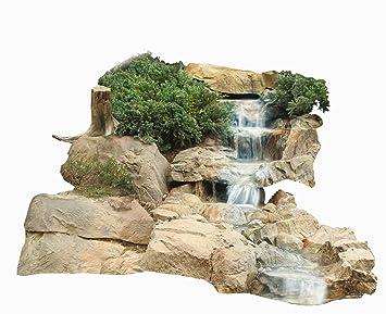 Bachlauf Wasserfall Gartenteich Bachlaufschalen Set I: Amazon.de: Garten