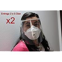 Pantallas de Proteccion Facial Transparente, Mascara Protectora, Plástico