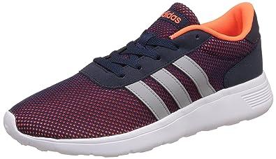 8e31d5a54e93a6 adidas NEO Herren Lite Racer Sneakers Mehrfarbig Clear Onix Solar Orange