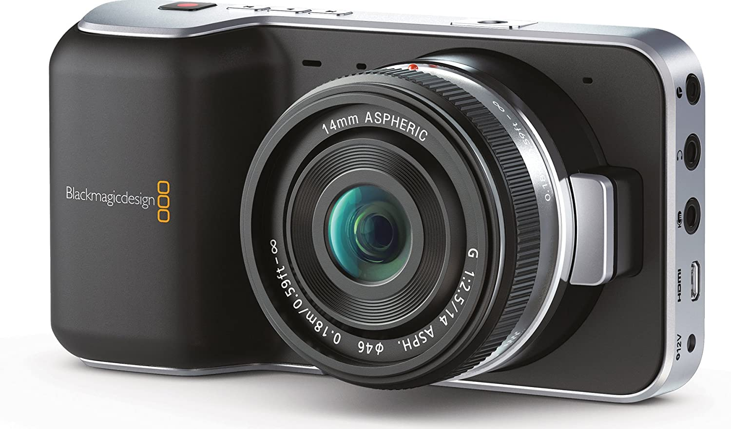 Amazon Com Blackmagic Pocket Cinema Camera With Micro Four Thirds Lens Mount Slr Digital Cameras Camera Photo