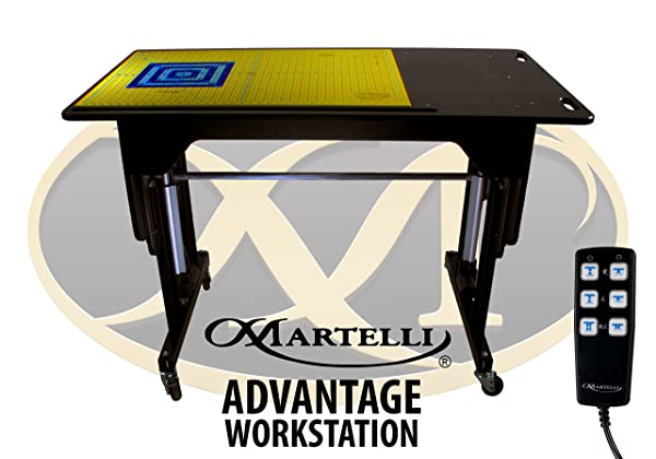 Best Adjustable Height Sewing Table: Martelli Quilting, Sewing and Crafting Table