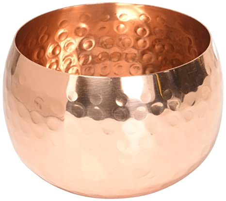 Well known Amazon.com | Premium Quality Medium Copper Decorative Bowl - 100  JT35