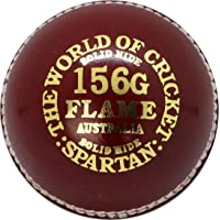 Spartan Flame Two Piece T20 Cricket Ball, Red
