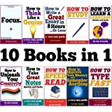 10 Books in 1: Memory, Speed Read, Note Taking, Essay Writing, How to Study, Think Like a Genius, Type Fast, Focus: Concentra