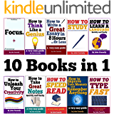 10 Books in 1: Memory, Speed Read, Note Taking, Essay Writing, How to Study, Think Like a Genius, Type Fast, Focus: Concentrate, Engage, Unleash Creativity, ... (The Learning Development Book Series)