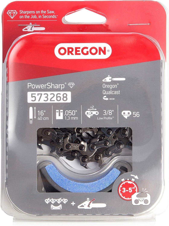 Oregon 573268 Cha/îne et pierre daff/ûtage Powersharp de remplacement pour la tron/çonneuse CS300 Oregon