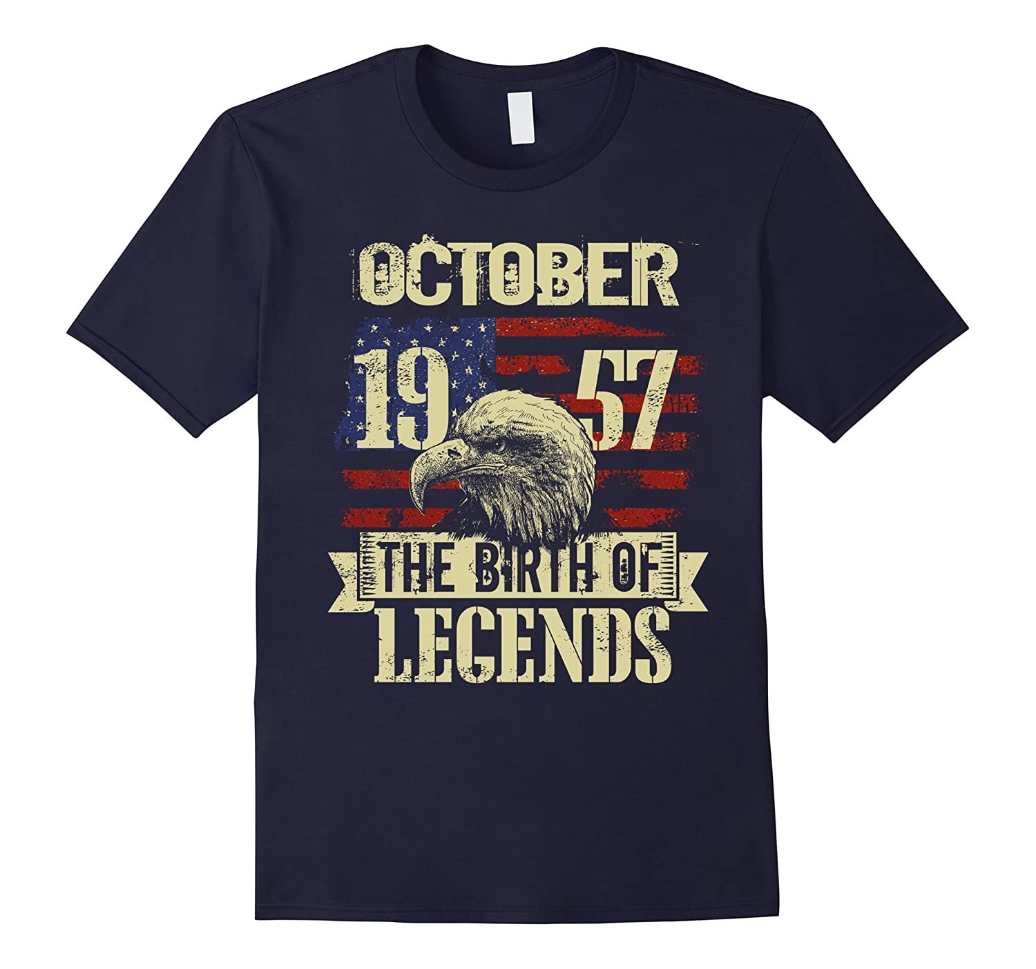 1957 OCTOBER OCT The Birth Of Legends Gift 60 Yrs Years Old-Art
