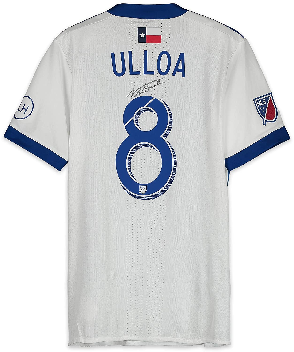 sports shoes a06bd fd21d Victor Ulloa FC Dallas Autographed Match-Used Blue and White ...