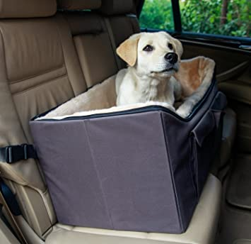 Buy Petsfit Lookout Car Seat For 2 Small Dogs Or Medium Dog Up To 45 Lb With Big Pockets Online At Low Prices In India