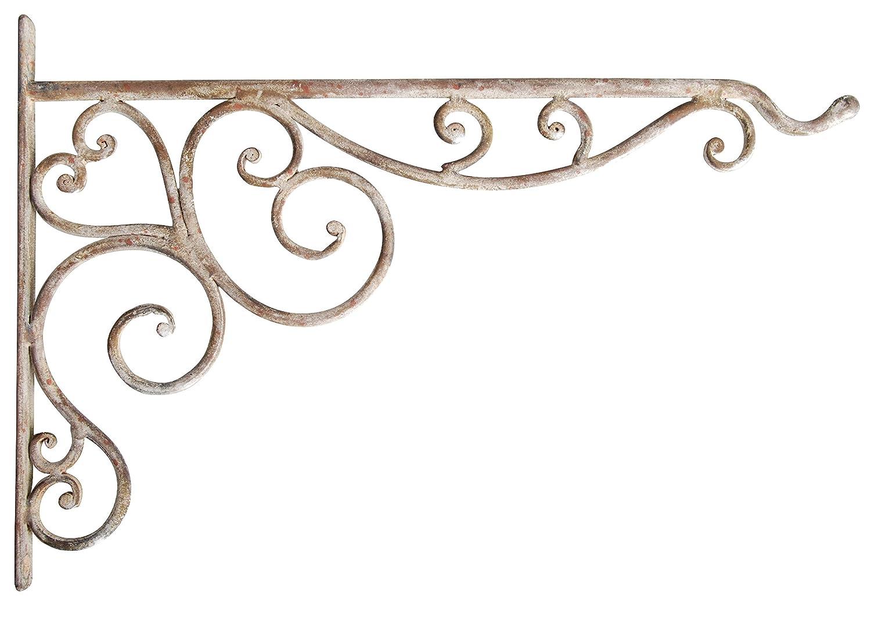 Amazon.com : Esschert Design USA Aged Metal Hanging Basket Hook : Plant  Hooks : Garden U0026 Outdoor