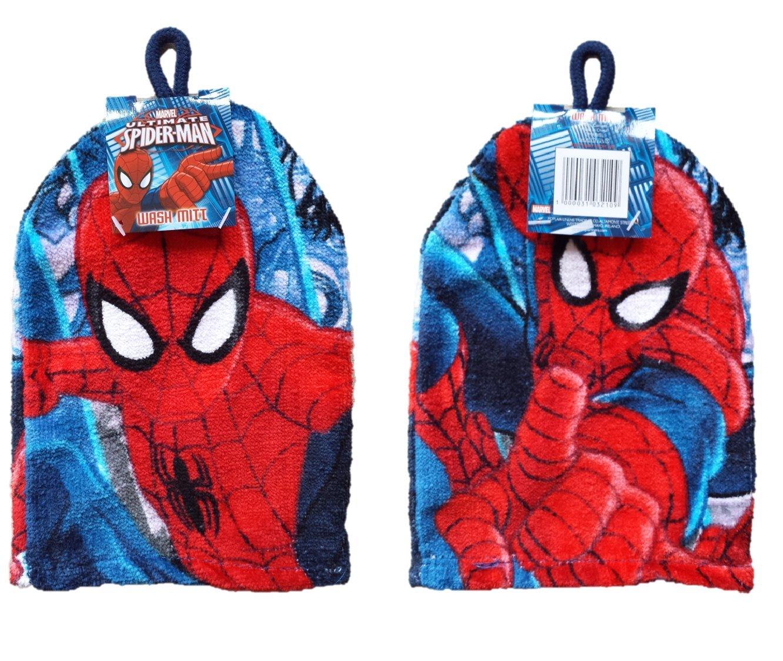 Ultimate Spider Man - Wash Mitt Flannel
