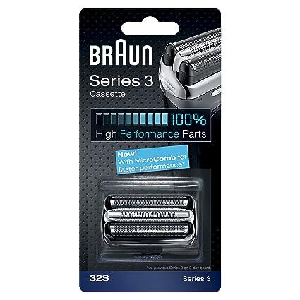 Braun - Series 3 - Laminas para máquina de afeitar  Amazon.es  Salud ... ac06f33dc474