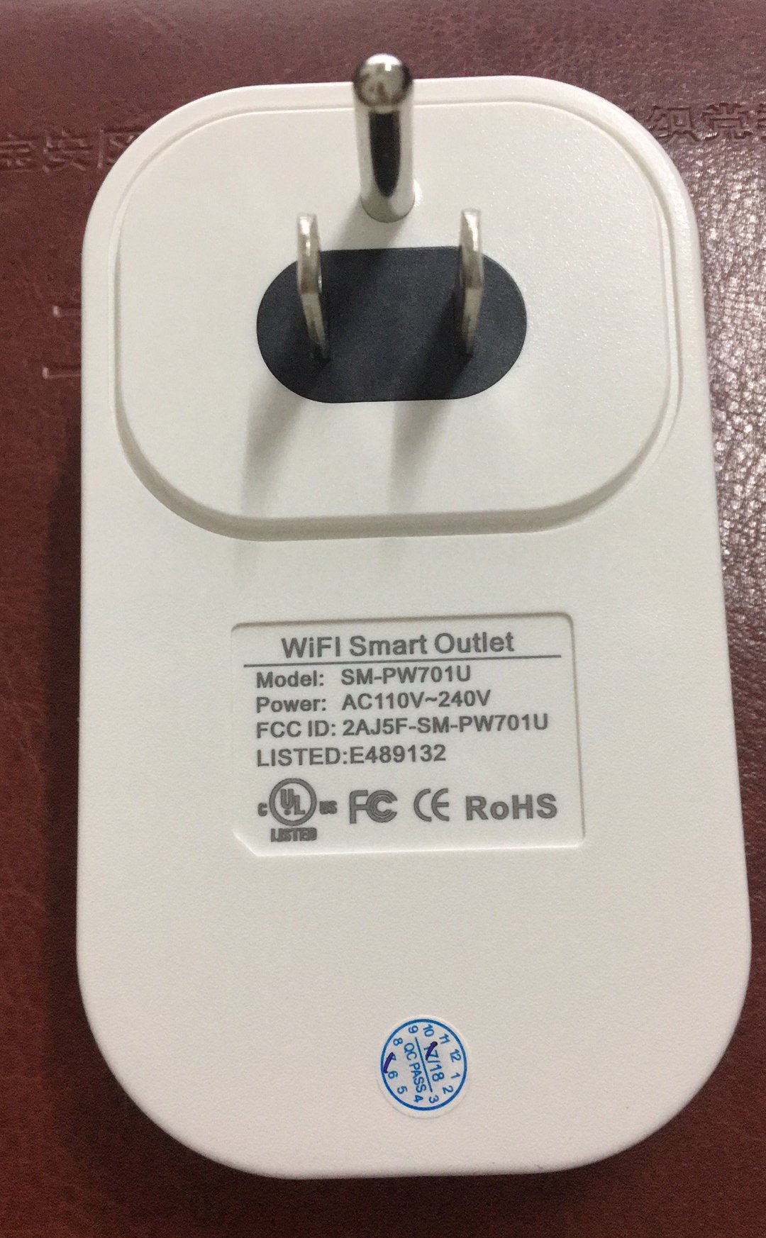 UL Listed WIFI Smart Plug, Wireless APP Remote Speaker Control Appliances Compatible with Alexa Smart Outlet for Smart Home Lights/ Fixtures/Other by WGOAL (Image #3)