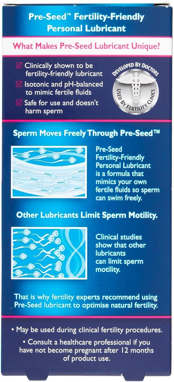 Pre Seed Fertility Friendly Lubricant Amazon Health