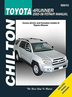 Toyota 4runner 2003 2009 haynes repair manual haynes toyota 4runner 2003 2009 chilton automotive books fandeluxe Choice Image