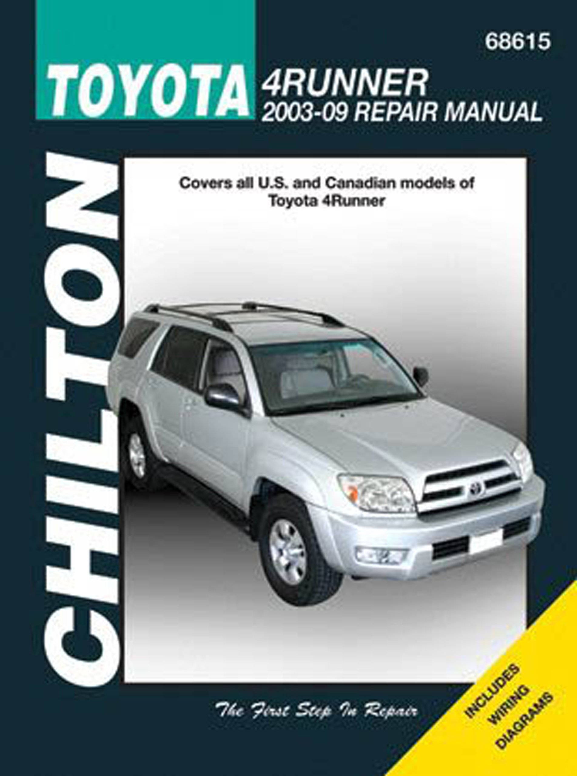 Toyota 4runner 2003 09 Covers All Us And Canadian Models Of Land Cruiser Haynes Repair Manual 4runn Chilton Automotive Books Publishing