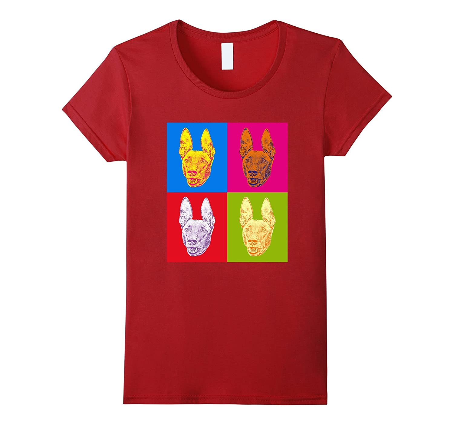 Pharaoh Hound Pop-Art Shirt
