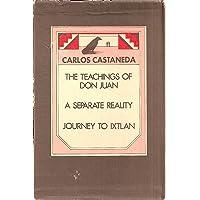 Three Volume Set - The Teachings of Don Juan, A Separate Reality, Journey to Ixtlan