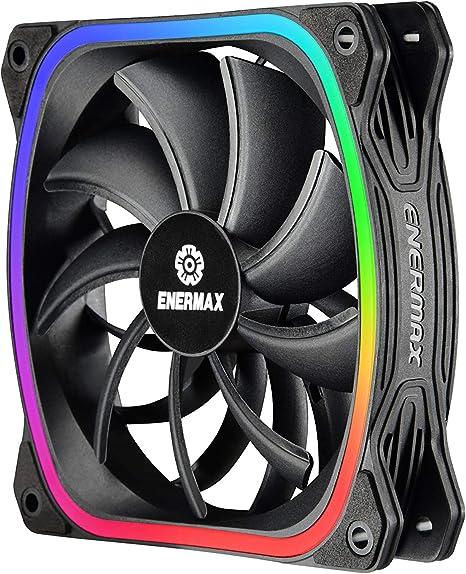 Enermax SquA RGB Carcasa del Ordenador - Ventilador de PC (Carcasa ...