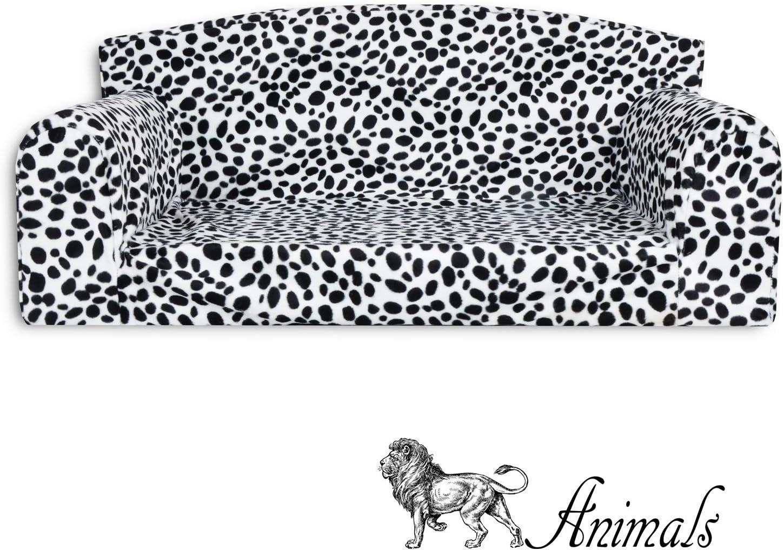 Animal - Sofá para mascota, diseño de dálmata,cama de 3 tamaños para perro,funda de material de alta calidad,fabricado en el Reino Unido: Amazon.es: Productos para mascotas