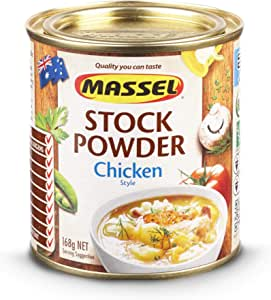 Massel Stock Powder, Chicken Style, No MSG, Gluten & Dairy Free (168g)