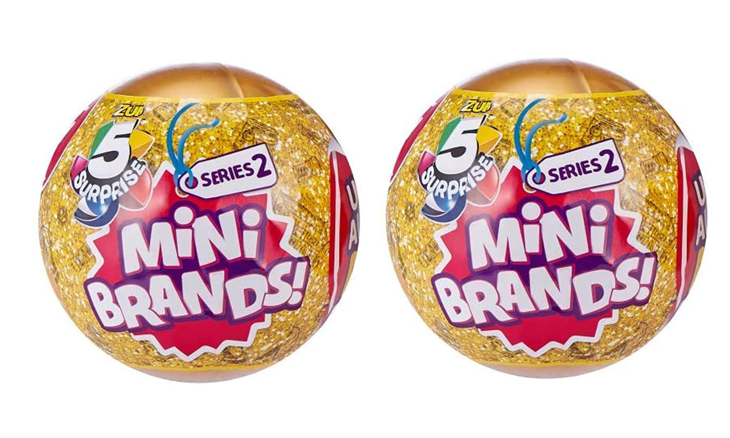 Year Round Gifts 4 You 5 Surprise Mini Brands! Series 2 (Pack 2)