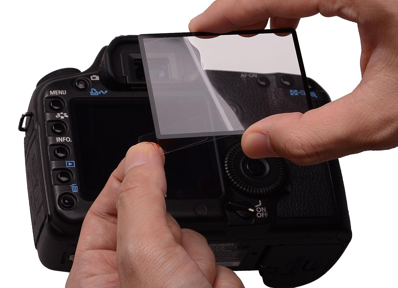 Rollei Pro Display Protection - Protector de pantalla para Canon EOS 1200D y Canon EOS 1300D, transparente 25059