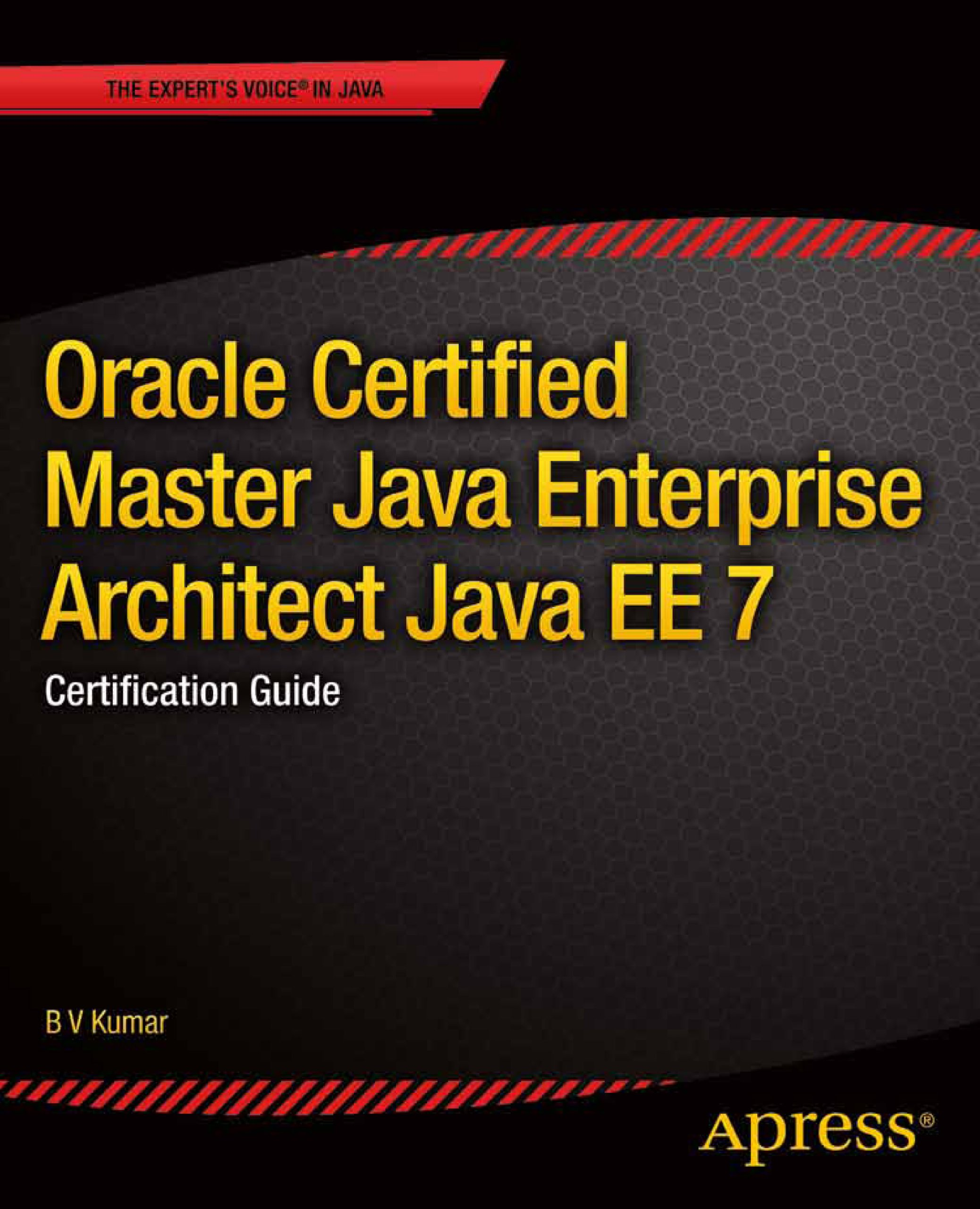 Oracle Certified Master Java Enterprise Architect Java Ee 7