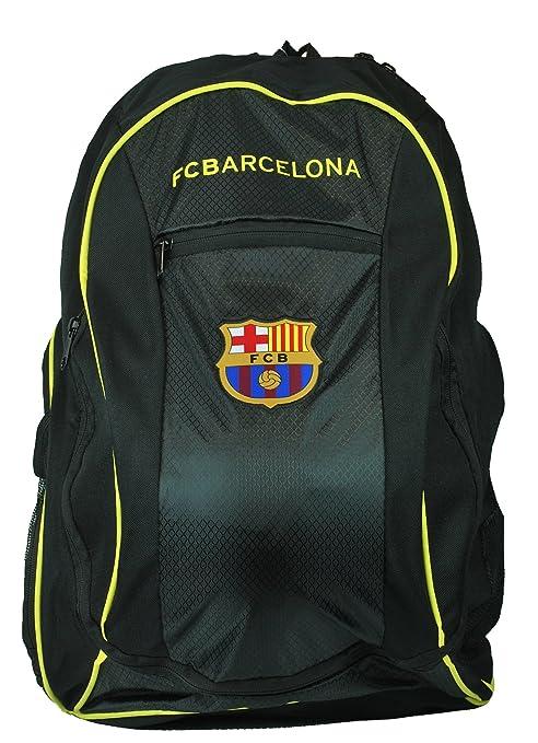 d156c7a1f0ea Amazon.com   FC Barcelona Soccer Backpack w  ball pocket for Soccer ...